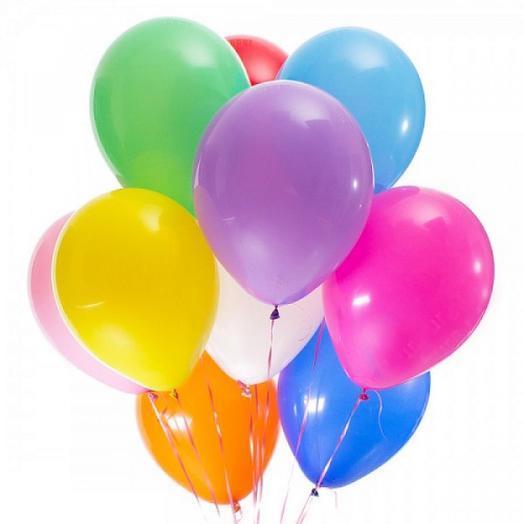 воздушные шары микс 11 шт