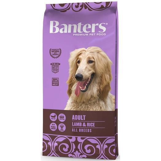 Banters Adult ягненок с рисом сухой корм для собак 15 кг