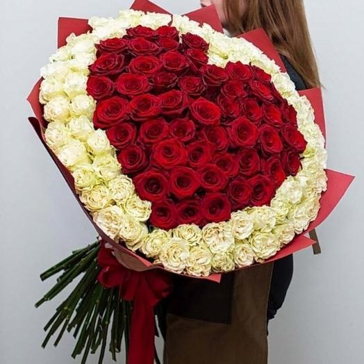 Любимая моя 151шт роз