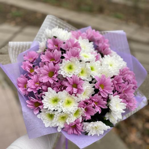 Облако из хризантемы для любимой