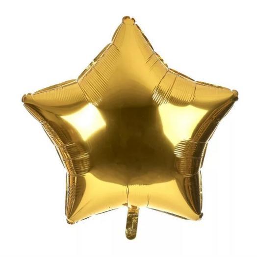 "Шар ""Звезда золотая"""
