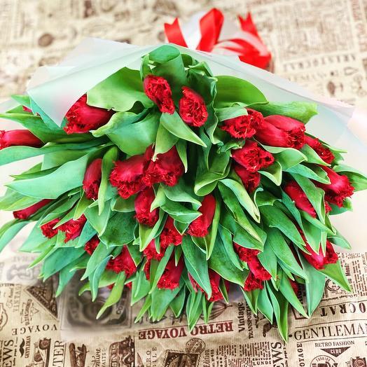 Тюльпаны Премиум Махровые