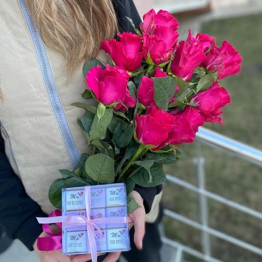 Розы + Шокобокс ️