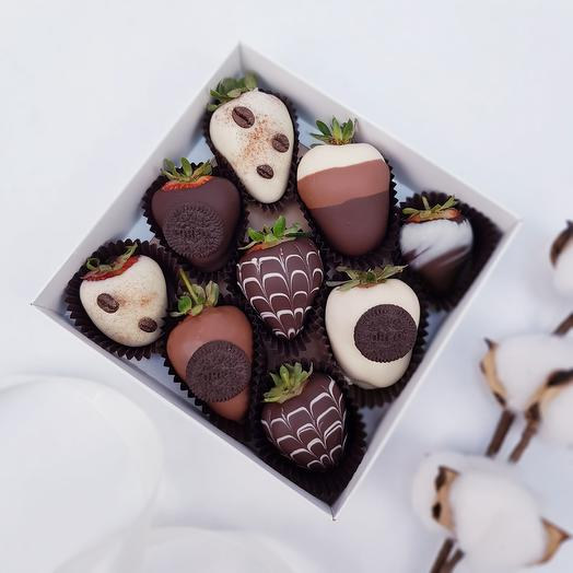 Клубника в шоколаде 25