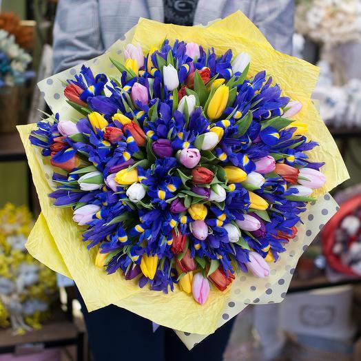 Букет цветов На встречу пробуждению