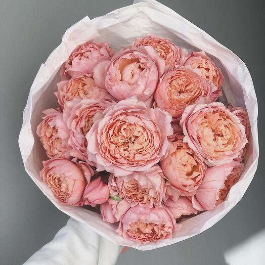 Моно из кустовой розы Джульетта