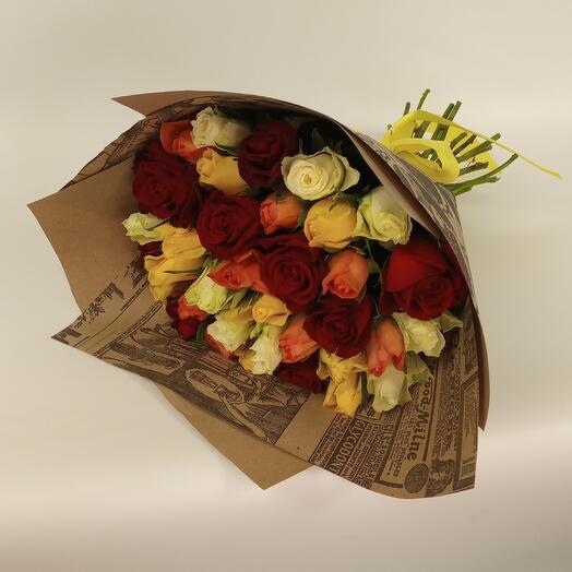 Роза Кения микс 35 шт