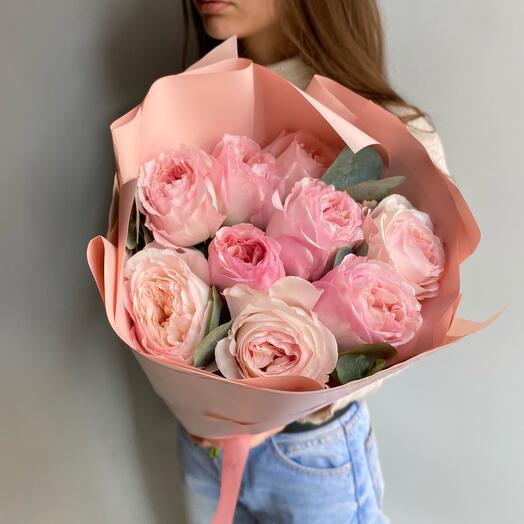 Моно пионовидные розы
