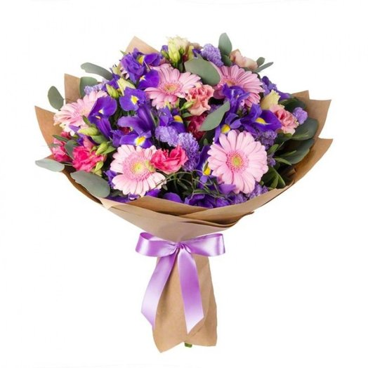 Сиреневое настроение: букеты цветов на заказ Flowwow