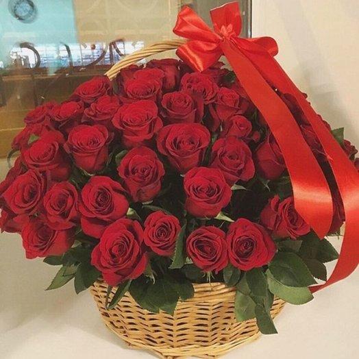 Корзина цветов 4: букеты цветов на заказ Flowwow