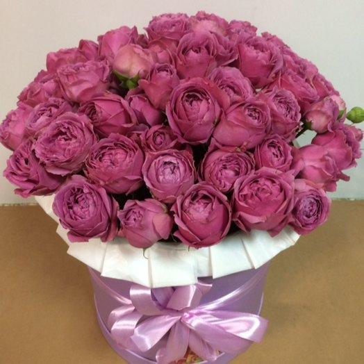 31 Мисти Баблс в коробке: букеты цветов на заказ Flowwow
