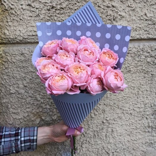 Букет - 3 розы Ju iette: букеты цветов на заказ Flowwow