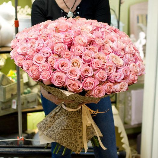 """Букет из роз """"Hermosa"""": букеты цветов на заказ Flowwow"""