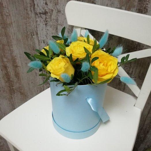Бирюзовый комплимент: букеты цветов на заказ Flowwow