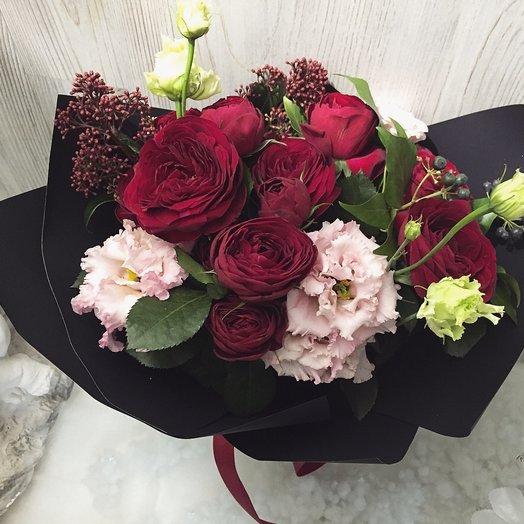 Яркий и страстный: букеты цветов на заказ Flowwow