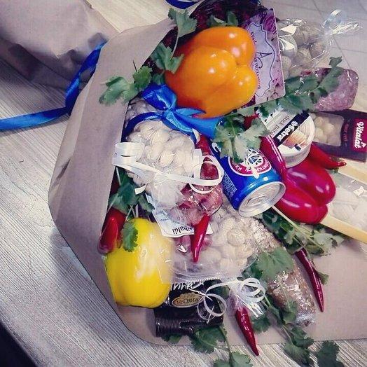 Букет для мачо: букеты цветов на заказ Flowwow