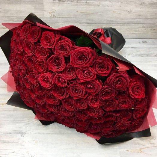 Букет из 101 Красной розы (70 см) N14