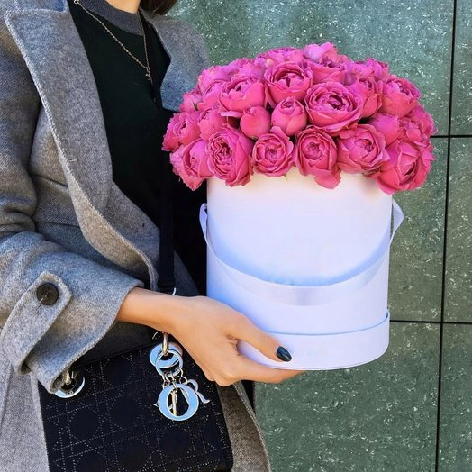 Коробка Мисти Бабблз: букеты цветов на заказ Flowwow