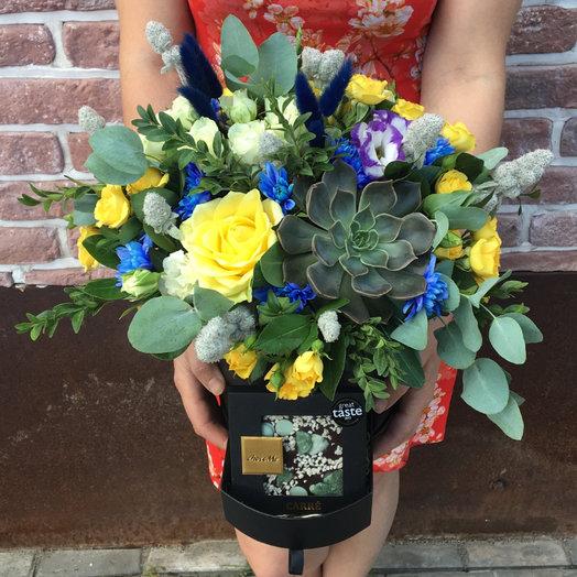Мятный шоколад: букеты цветов на заказ Flowwow