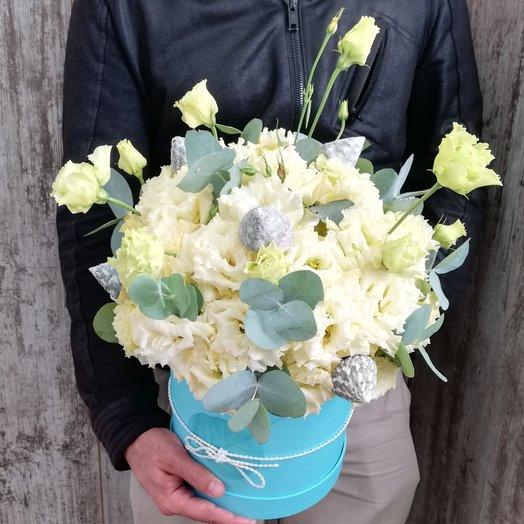 Бархатная лагуна: букеты цветов на заказ Flowwow