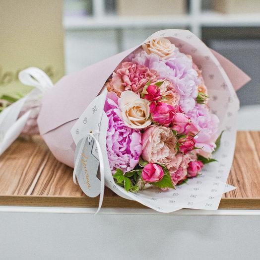 Букет 09: букеты цветов на заказ Flowwow