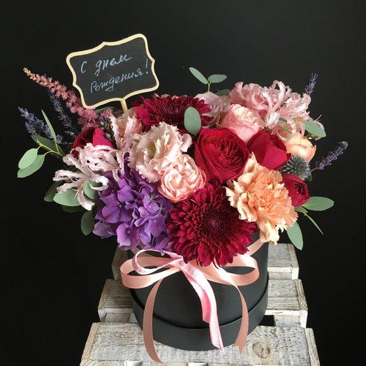 Коробочка дня ! : букеты цветов на заказ Flowwow