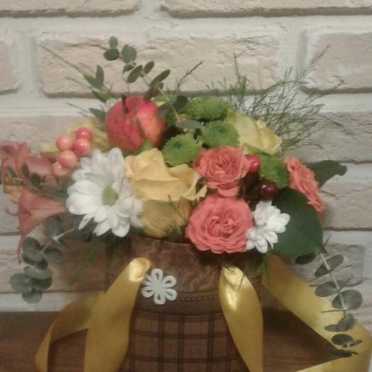 Немного красоты: букеты цветов на заказ Flowwow
