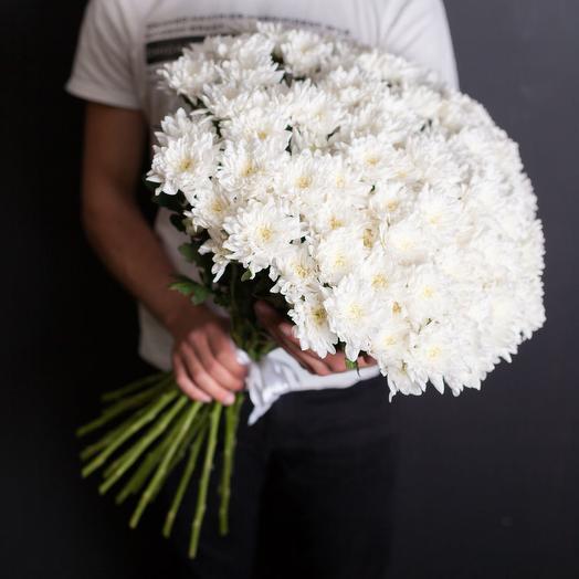 Хризантема кустовая 27: букеты цветов на заказ Flowwow