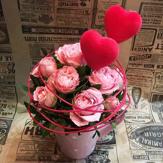 Love it -3: букеты цветов на заказ Flowwow
