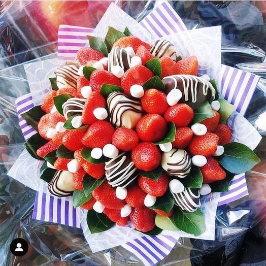 Ягодный букет «Удовольствие»: букеты цветов на заказ Flowwow