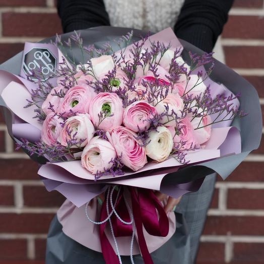 Ранункулюсы:): букеты цветов на заказ Flowwow