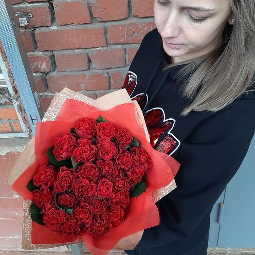 Возвышенная любовь Z19: букеты цветов на заказ Flowwow
