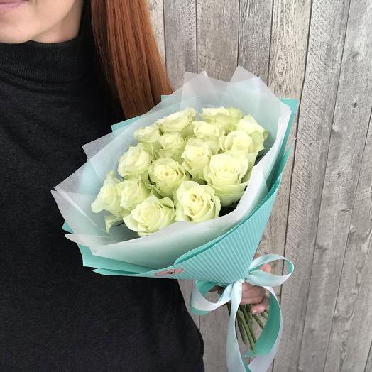 Букет свежих роз: букеты цветов на заказ Flowwow