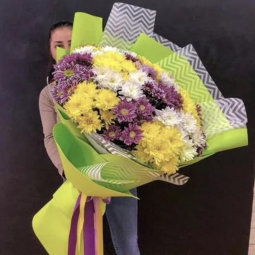 Букет гигант 🌸😍: букеты цветов на заказ Flowwow