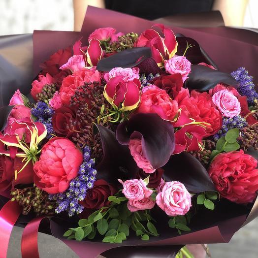 Букет «Мадонна»: букеты цветов на заказ Flowwow