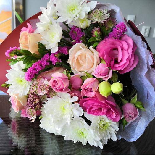 Перламутр: букеты цветов на заказ Flowwow