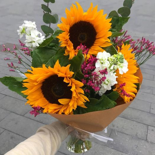 Когда хочется солнца🌻: букеты цветов на заказ Flowwow