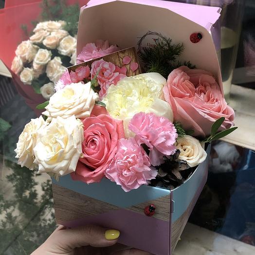 Подарочек: букеты цветов на заказ Flowwow