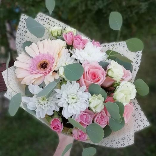 Нежные грёзы: букеты цветов на заказ Flowwow