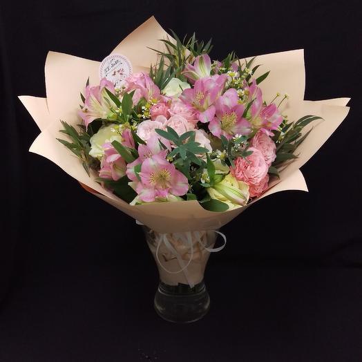 Розовый десерт: букеты цветов на заказ Flowwow