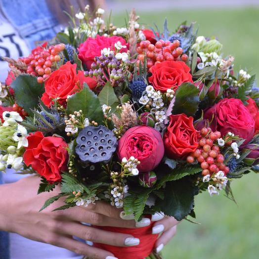 "Букет цветов ""Нескучный Сад"": букеты цветов на заказ Flowwow"