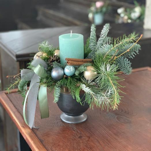 Волшебство новогодней ночи: букеты цветов на заказ Flowwow