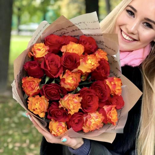 Яркие звёзды: букеты цветов на заказ Flowwow