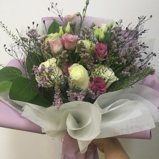 Букет « Морозное утро»: букеты цветов на заказ Flowwow