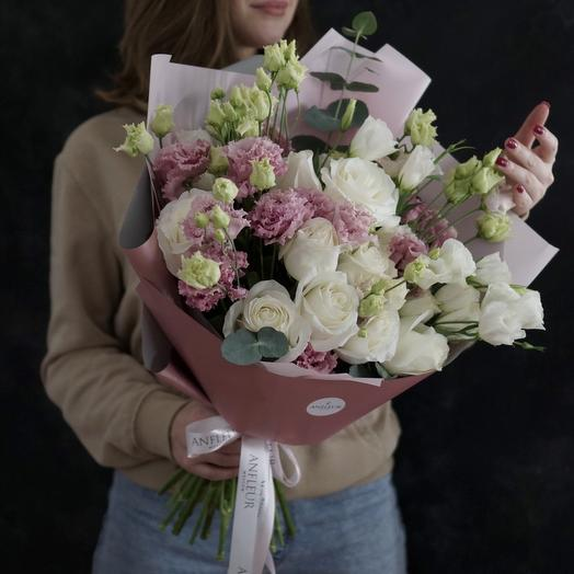 "Букет ""Розовое золото"": букеты цветов на заказ Flowwow"