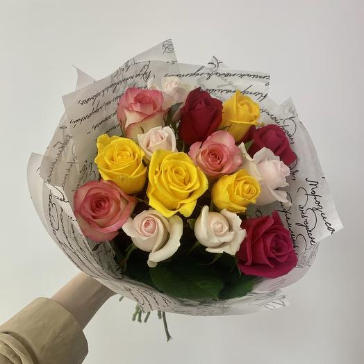 Букет «Письмо»: букеты цветов на заказ Flowwow