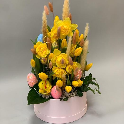 Пасхальная 02: букеты цветов на заказ Flowwow