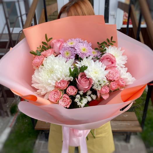 Романтичный персиковый