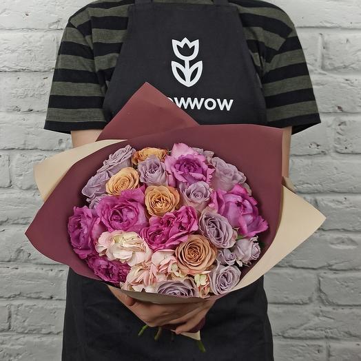 """Букет """"Фея Роза"""": букеты цветов на заказ Flowwow"""