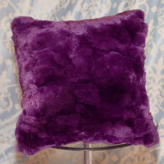 Подушка натуральный мех